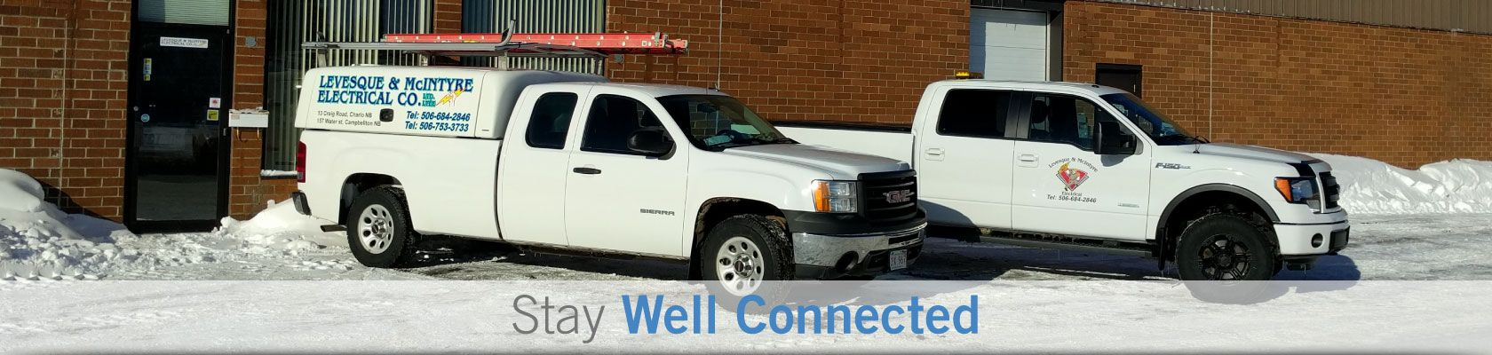 Stay Well Connected - Company.s truck